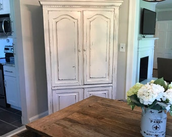 SOLD: Farmhouse Armoire