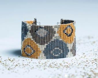 Bracelet AROUND (Miyuki beads)