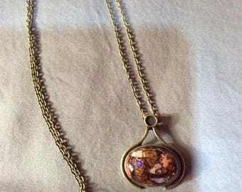 Sea sediment Jasper necklace/pendant - Stunning!