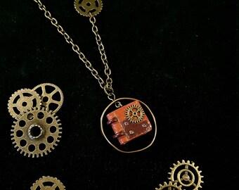 "necklace ""Steampunk"""