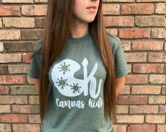 Canvas Kids Tshirt