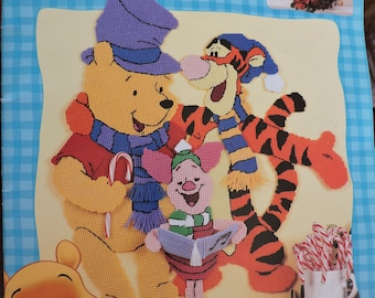 Disneys Winnie the Pooh Celebrate the Holidays in Plastic Canvas Leisure Arts Booklet # 1883