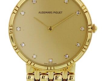 Audemars Piguet 18K Yellow Gold Quartz Watch 56434.769