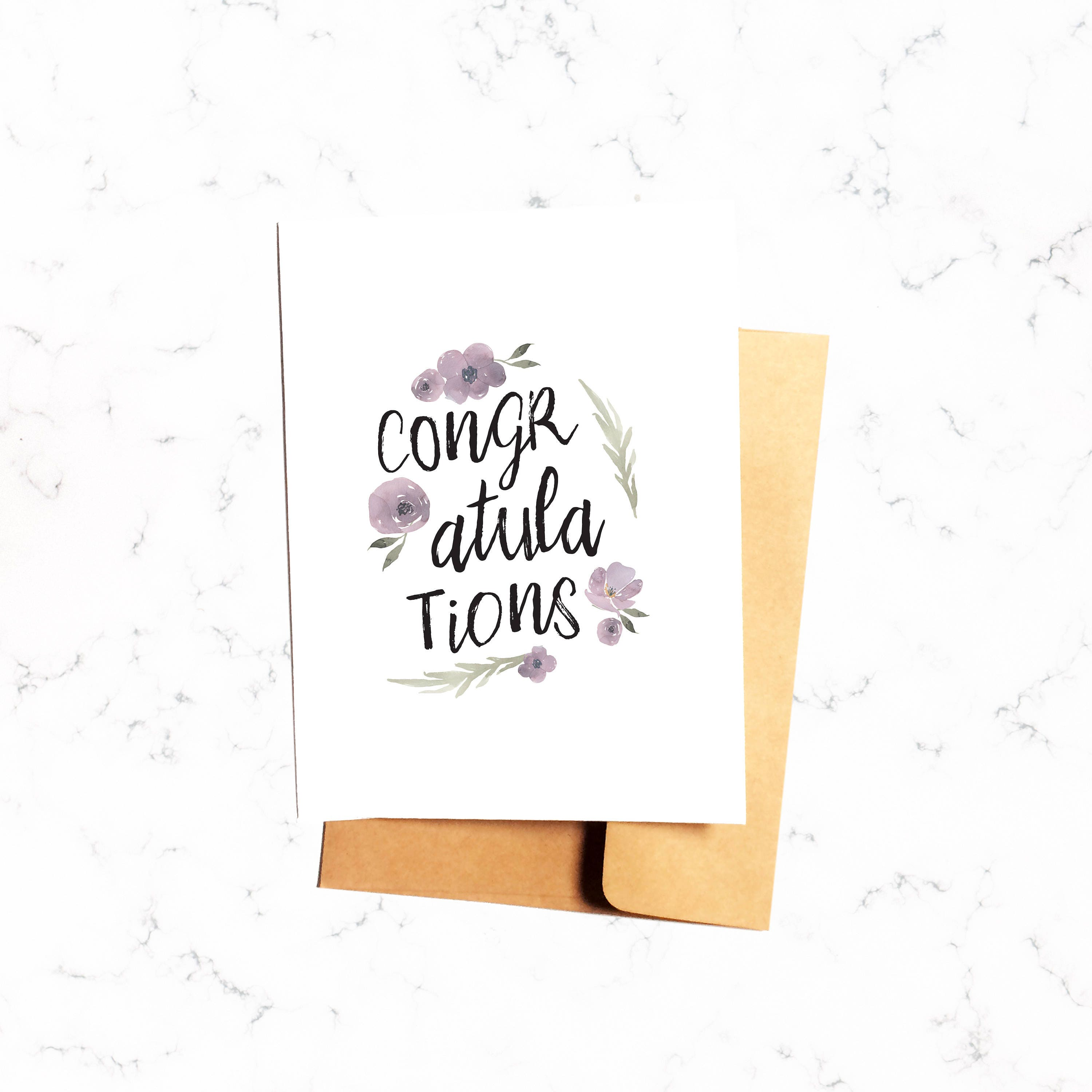 Congratulations card congrats greeting for her baby shower congratulations card congrats greeting for her baby shower wedding marriage new homeowners job graduation engagement kristyandbryce Images