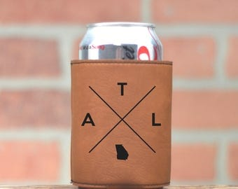 Atlanta | Can Cooler - Custom Can Coolers - Beer Cozy -Atlanta Georgia