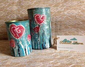 Under water love tin can