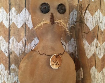 Primitive Cat Fall/Halloween decor