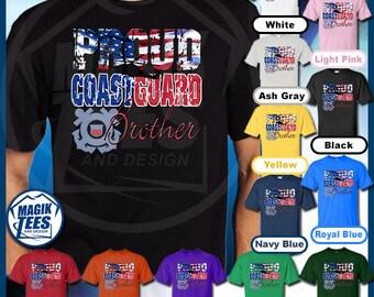 Proud Coast Guard Brother T-Shirt