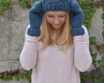 Hat and Mitten Set