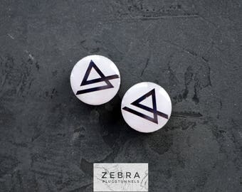 Buy2get3 plugs Linkin Park image wood ear tunnels,4,5,8,10,12,14,16,18,20,25-60mm;6g,4g,2g,0g,00g;1/4,5/16,3/8,1/2,9/16,5/8,3/4,7/8,1 1/4""