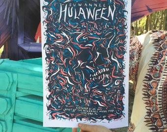 Hulaween 2017 Lot Poster