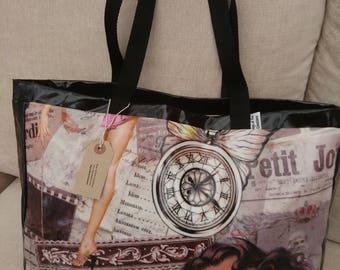 Oilcloth Tote Bag