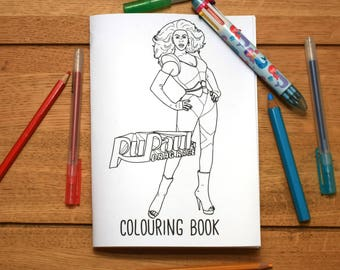 RuPauls Drag Race Colouring Book