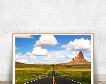 Agathla Peak - Monument Valley SP, Landscape Photo Art, Home Decor, Desert