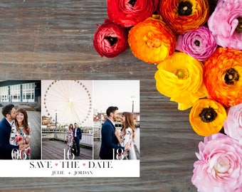 Stunningly Simple Save The Date