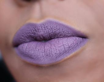 Matte Liquid Lipstick : FERRIDAY. Grey Mauve liquid lipstick. Vegan Matte Liquid Lipstick.