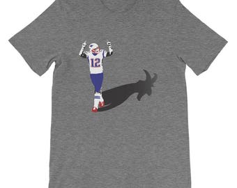 The GOAT Shadow Tom Brady T Shirt