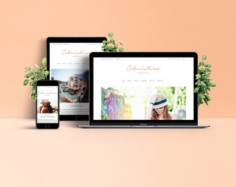 Christine WordPress Theme - Responsive & Stylish Template