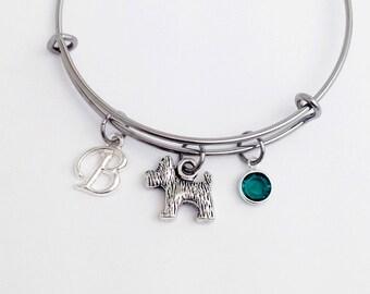 Yorkie Gifts Yorkie Mom Yorkie Jewelry Yorkie Bracelet Yorkie Bangle Bracelet Dog Bracelet Dog Jewelry Dog Lover Gift Yorkshire Terrier