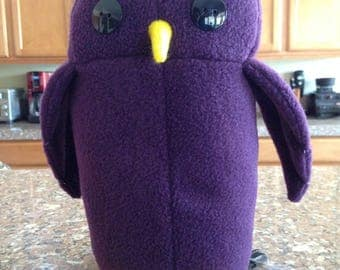 Purple Owl Plush (version 1)