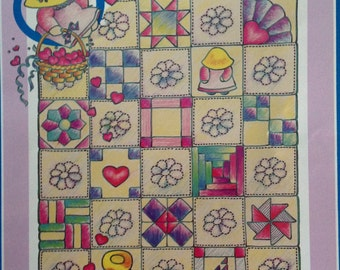 P S I Love You Baby Quilts, Lynda Milligan and Nancy Smith, Bibs and Bonnets Baby Quilt, Sail Away Baby Quilt, crib sheets, bumper pads
