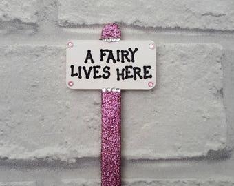 Fairy door sign | Etsy