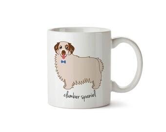 Clumber Spaniel Mug (boy)