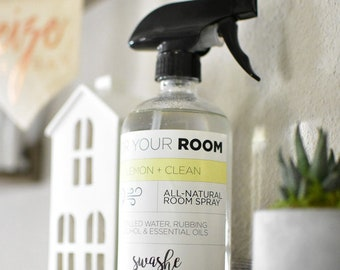 Room and Linen Spray | Air Freshener | All-Natural Freshener | Natural Deodorizer | Gift Idea