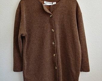 Vintage Rosewood Brown Sweater