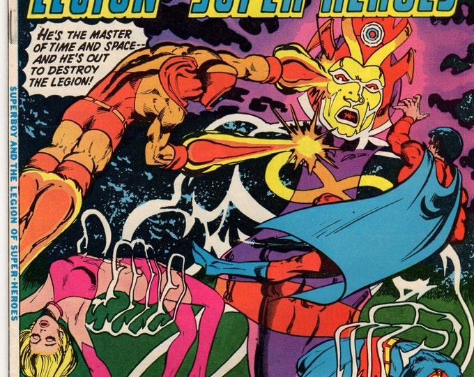 Superboy Comic Book #233 DC Comics 1977 F-VF Attack of Infinite Man