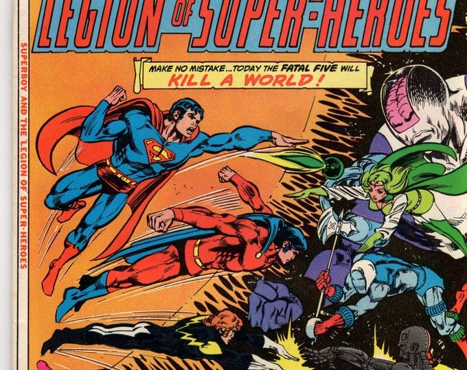 Superboy Comic Book #231 DC Comics 1977 F-VF Fatal Five