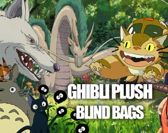 Ghibli Plush Blind Bags ANY MOVIE