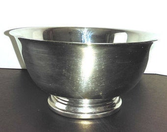 Silverplate Paul Revere Bowl by Oneida