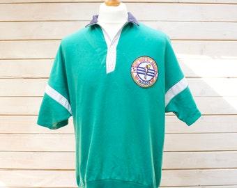 Retro Adidas Polo Shirt Size - Large