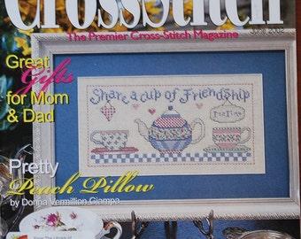 Just Cross Stitch Magazine - June 2002 - Donna Vermillion Giampa - Samplers