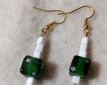 From the Heart To Die For Drop Earrings
