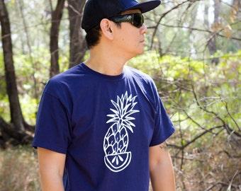Fruit shirt, pineapple tattoo, pineapple shirt, tattoo shirt, classic tattoo art, hipster gift, gift for tattoo lovers, summer shirt