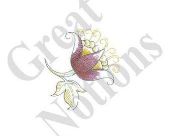 Floral Toile - Machine Embroidery Design