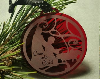 Come unto Christ Ornaments