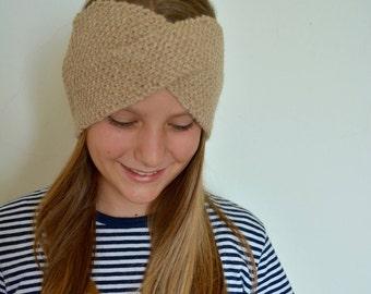 Knitted earmuffs range, winter Range for you, 100% Alpaca