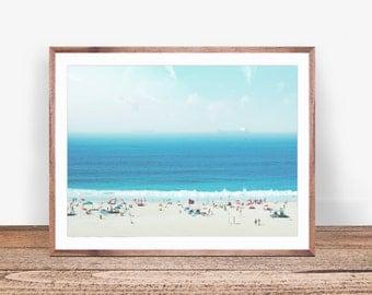 Beach Print, Beach Art, Beach Decor, Seaside Print, Ocean Wall Art, Beach Photo, Coastal Print, Beach Printable, Ocean Art, Beach Wall Art
