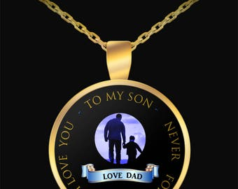 Necklace from Dad to Son | Father son gift | Pendant for son