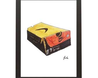 9x12 Nike Shoe Box