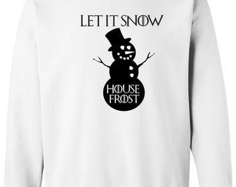Game of Thrones Inspired Sweatshirt Christmas is Coming Shirt