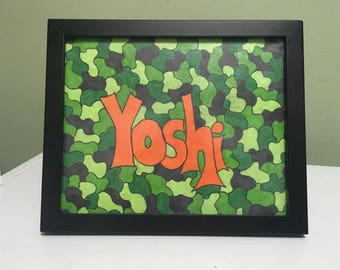 Named Camouflage Print