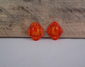 set of 2 cabochon for creation