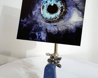 digital eye, digital print, aluminum, digital art, eye art, eye, soulful, unique art, sculpture, metal art, art, aluminum art, smokey eye