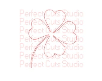 Shamrock SVG and Studio 3 Cut Files Celtic Files for Silhouette Brother Cricut Files Four Leaf Clover Stencil Cutouts Downloads SVGs Irish