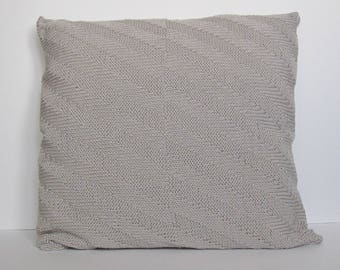 Knit pillow 40x40 Decorative Pillow cover Knitted pillow 16x16 Knitted cushion Knit cushion cover AnaValenArt Scandinavian style Pillow sham