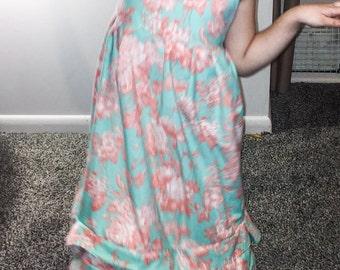 Girls formal ruffle dress